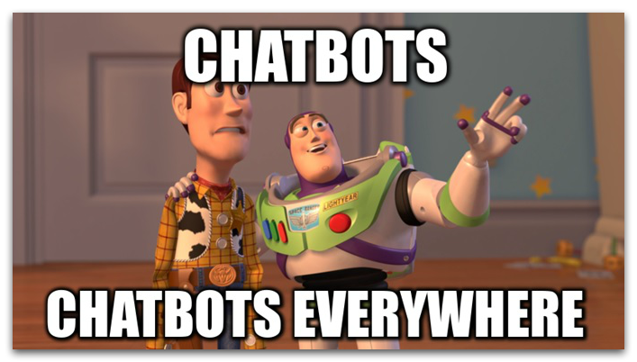 Chatbots everywhere