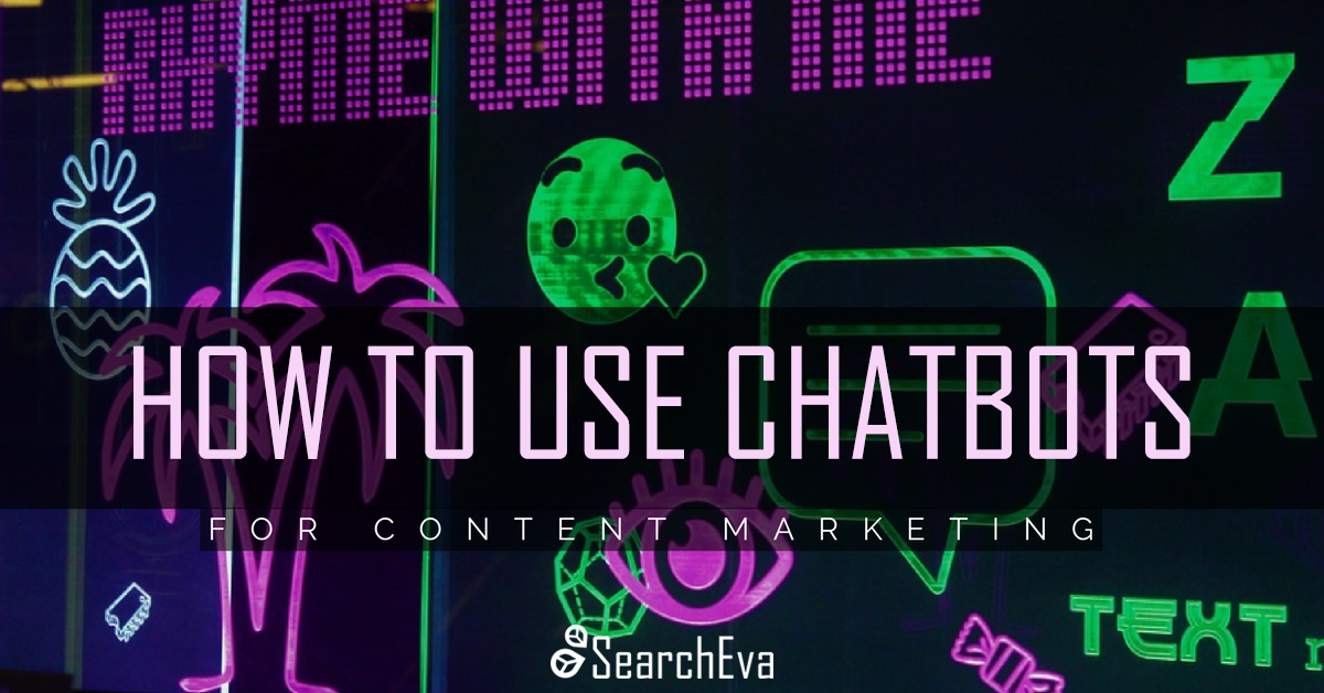 Chatbots for content marketing emoji